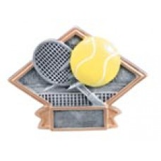 Large Diamond Resin Tennis Plates